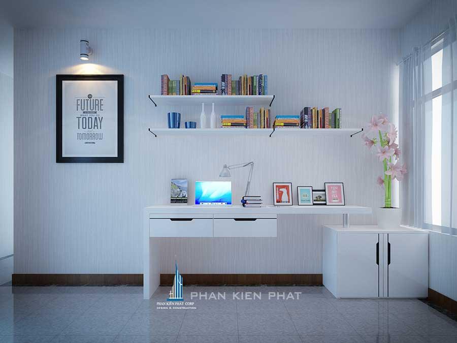 Thiết kế nội thất - Phòng làm việc góc 1