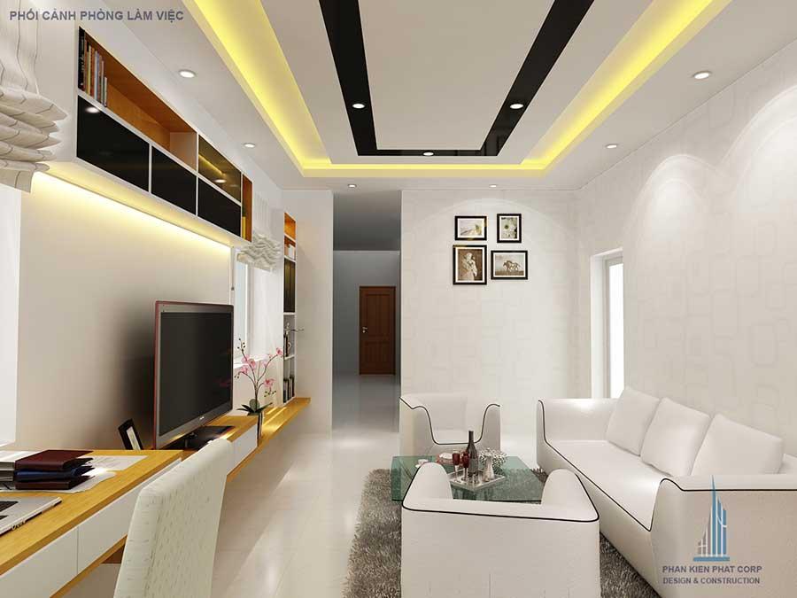Nhà 2 tầng 5x20m - Phòng làm việc góc 1