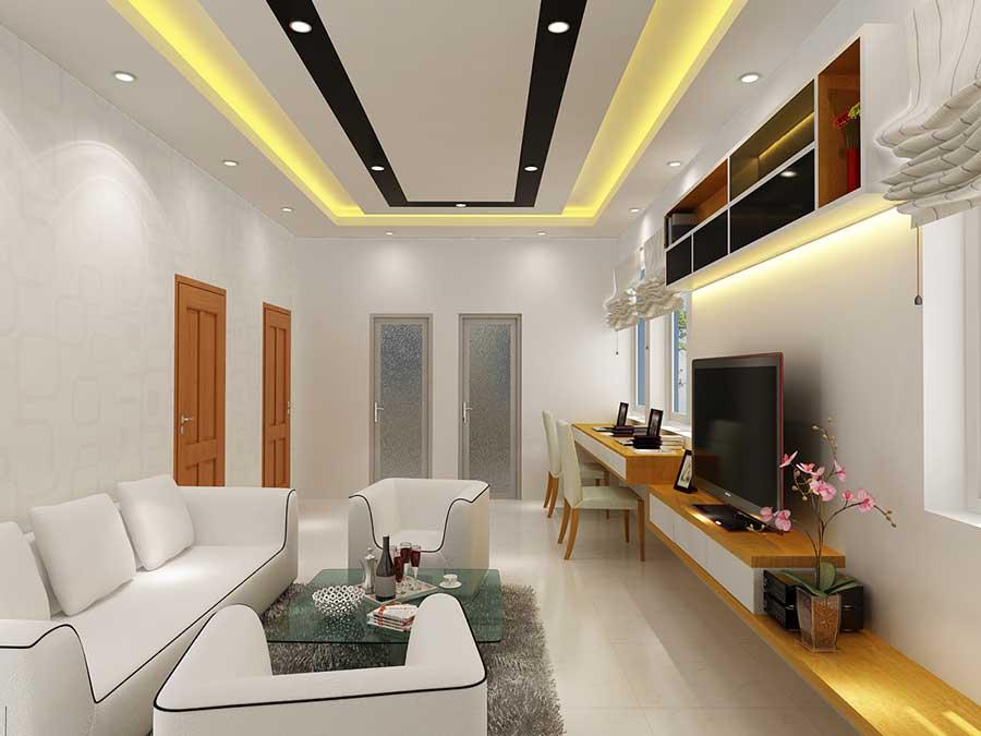 Nhà 2 tầng 5x20m - Phòng làm việc góc 2