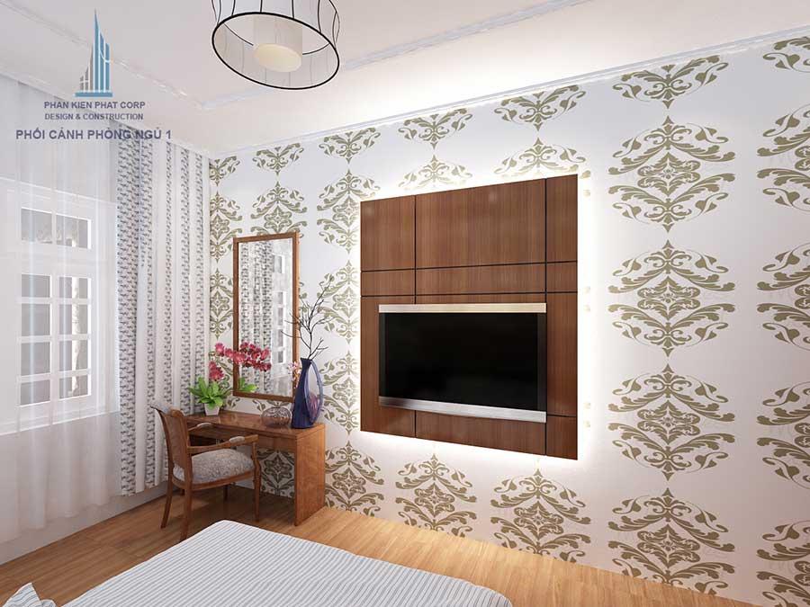 Thiết kế biệt thự - Phòng ngủ 1 góc 2