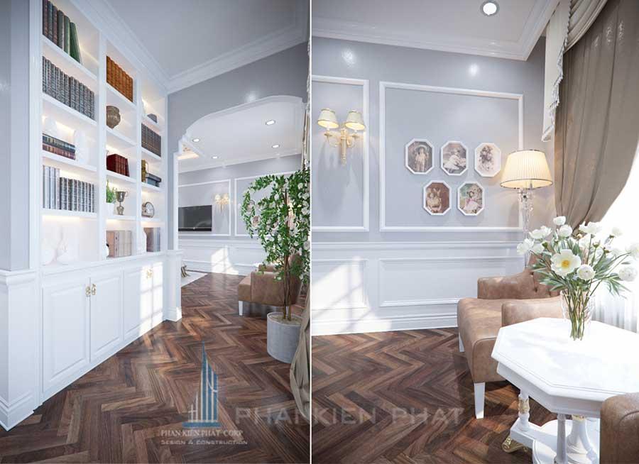 Biệt thự cổ điển - Phòng ngủ 1 góc 2