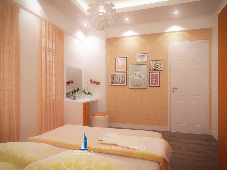 Nội thất nhà chung cư - Phòng ngủ 1 góc 2