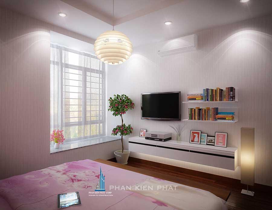 Phòng ngủ 1 view 2 của nội thất đẹp
