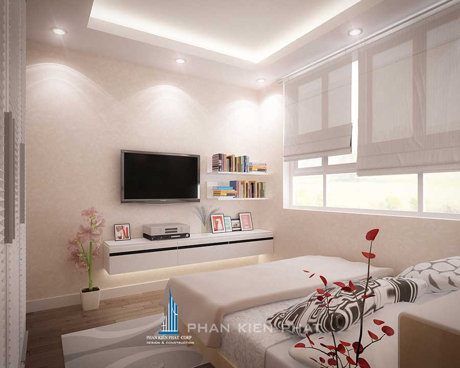Nội thất nhà ở - Phòng ngủ 1 góc 2