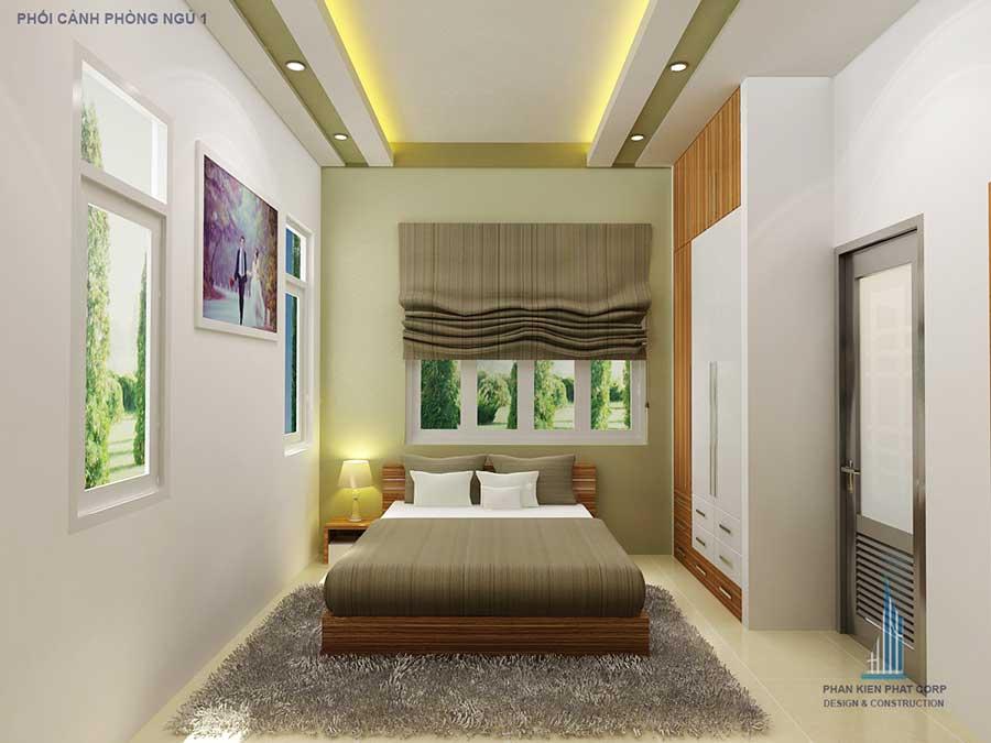 Phòng ngủ 1 - công ty thiết kế nhà đẹp