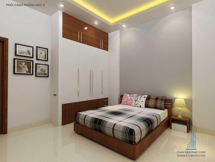Phòng ngủ 1 - thiết kế xây dựng nhà ở