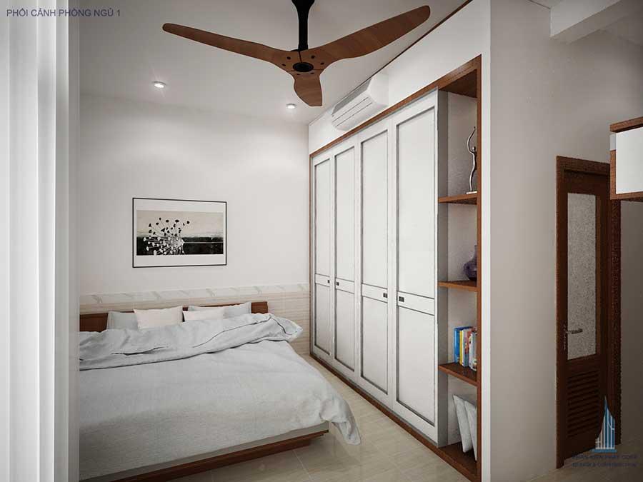 Nhà phố hiện đại - Phòng ngủ 1 góc 2