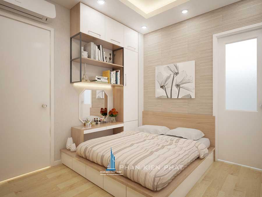 Phối cảnh phòng ngủ 1 góc 4