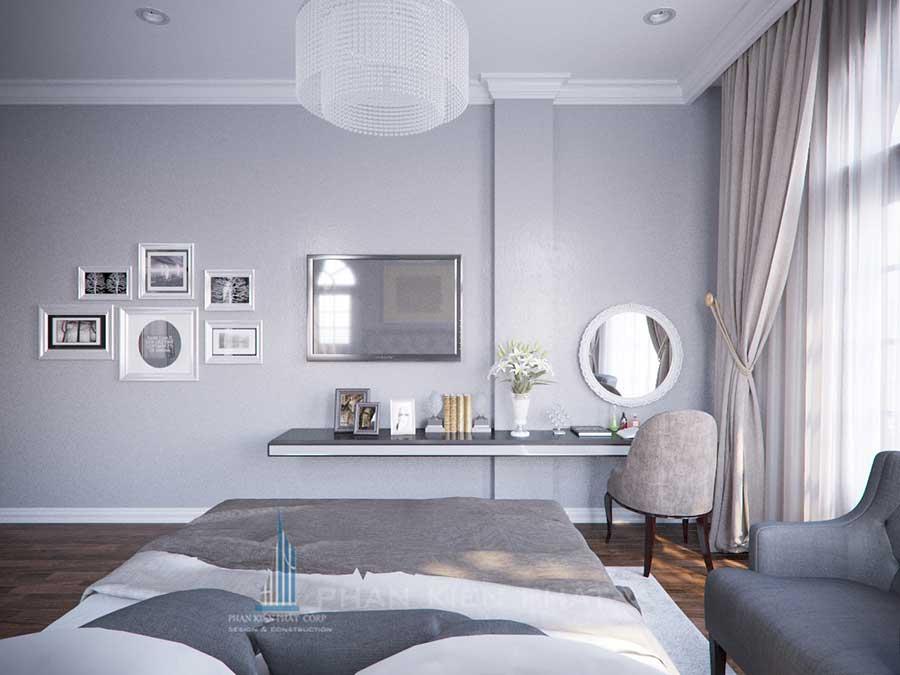 Thiết kế biệt thự - Phòng ngủ 2