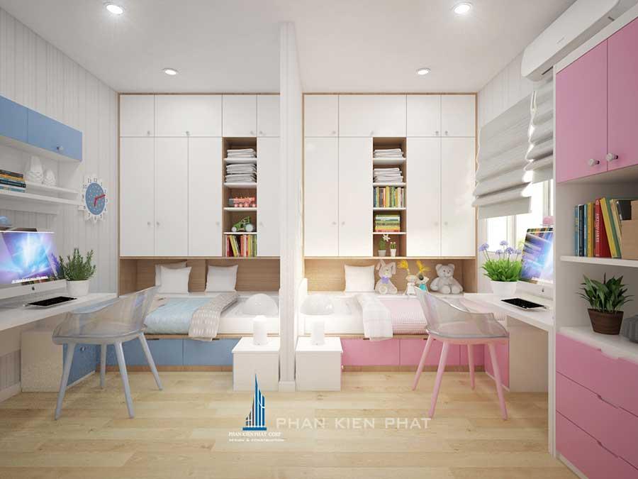 Nội thất nhà chung cư - Phòng ngủ 2 góc 1