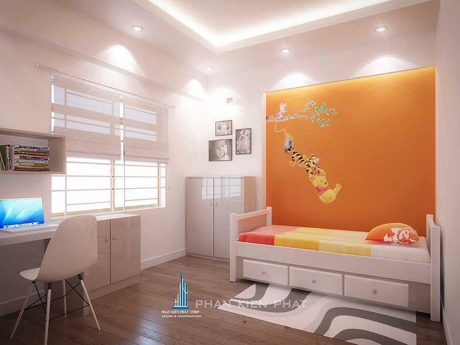 Thiết kế nội thất - Phòng ngủ 2 góc 1