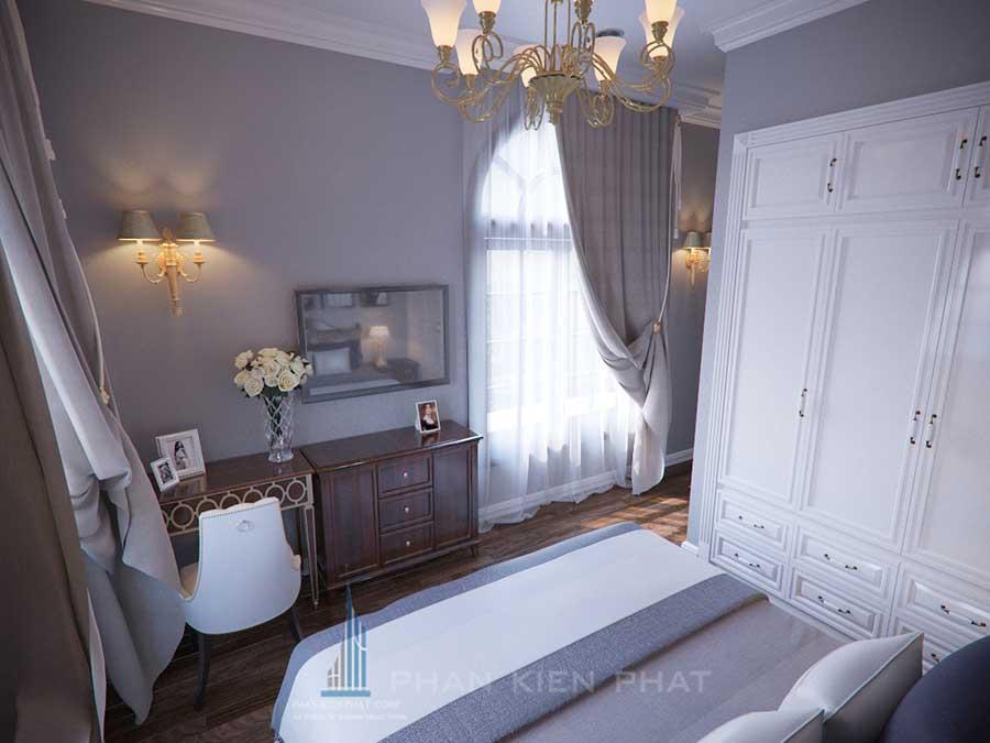 Biệt thự cổ điển - Phòng ngủ 2 góc 2