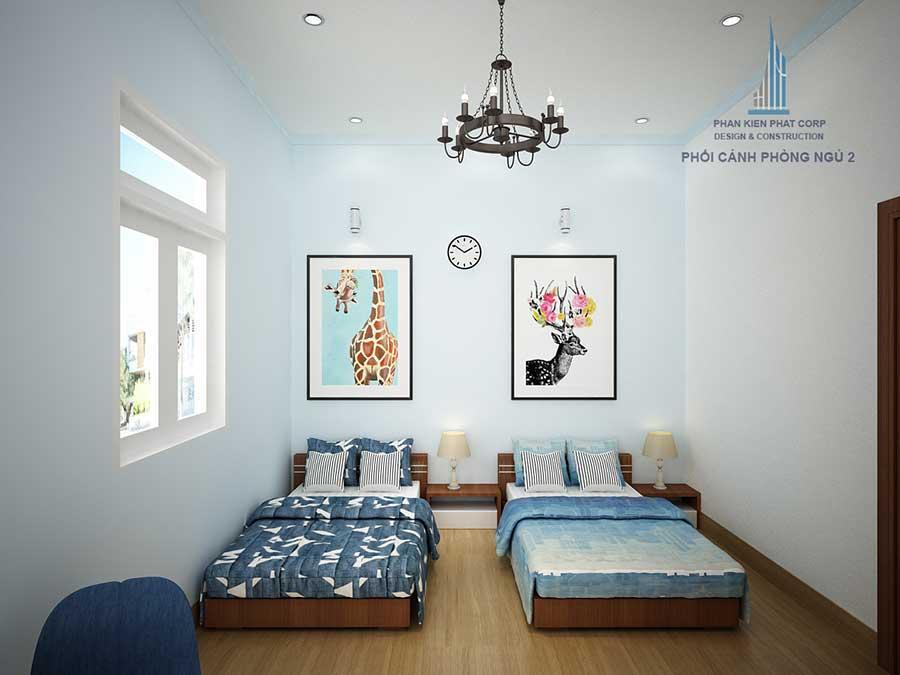 Nhà cấp 4 sân vườn - Phòng ngủ 2 góc 2