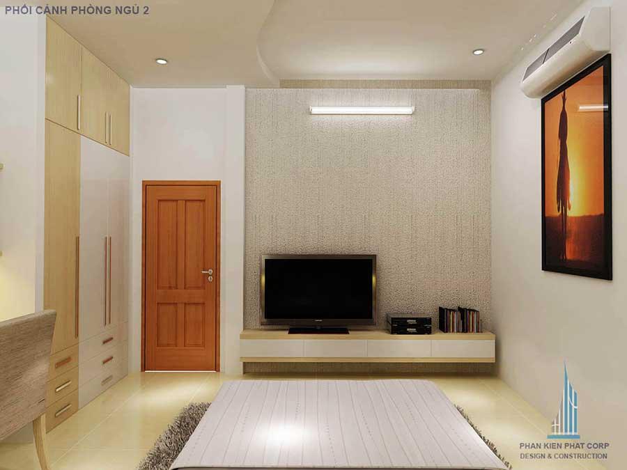 Nhà 2 tầng - Phòng ngủ 2 góc 2