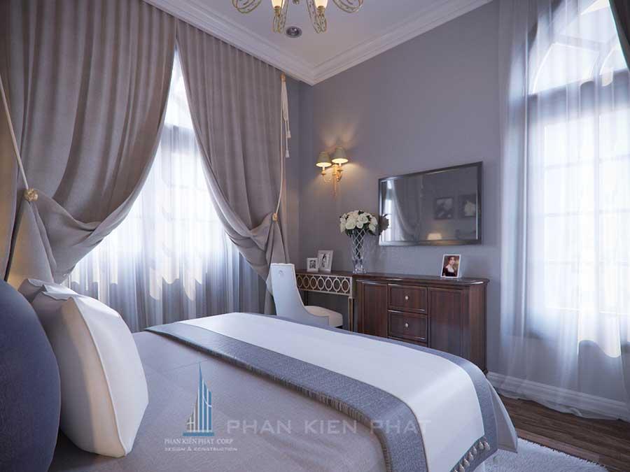 Biệt thự cổ điển - Phòng ngủ 2 góc 3