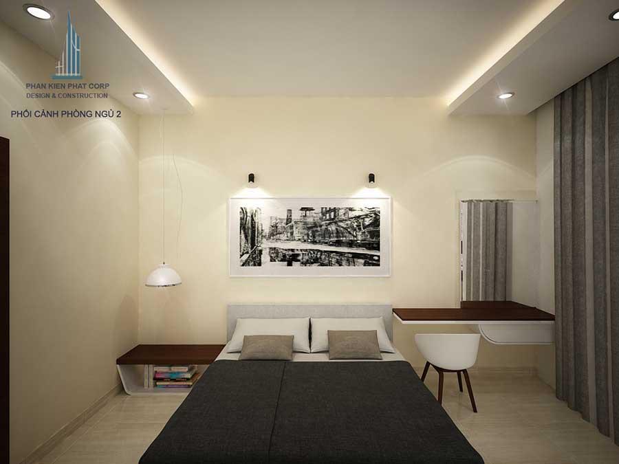 Nhà phố kinh doanh - Phòng ngủ 2 góc 3