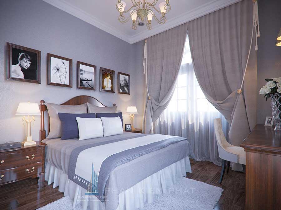 Biệt thự cổ điển - Phòng ngủ 2 góc 4