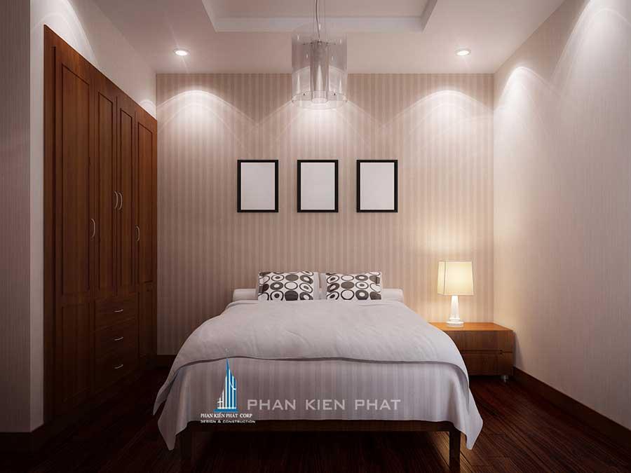 Phòng ngủ 3 view 1 của nội thất nhà đẹp chung cư