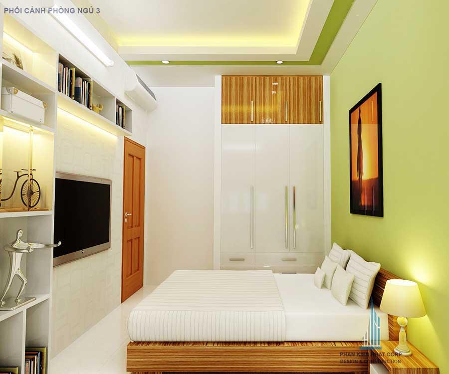 Nhà 3 tầng 5x15m - Phòng ngủ 3 góc 1