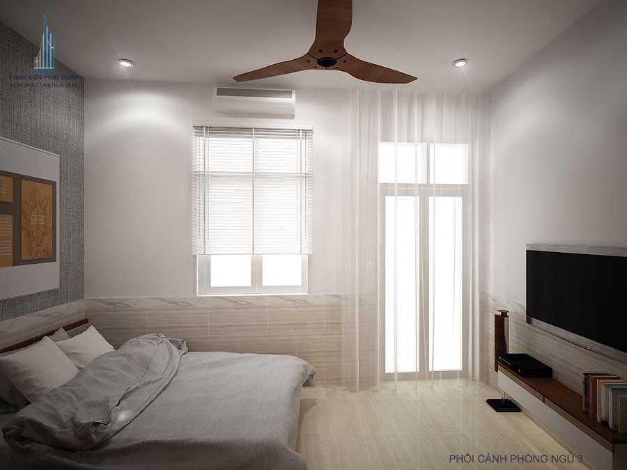 Phối cảnh phòng ngủ 3 góc 2