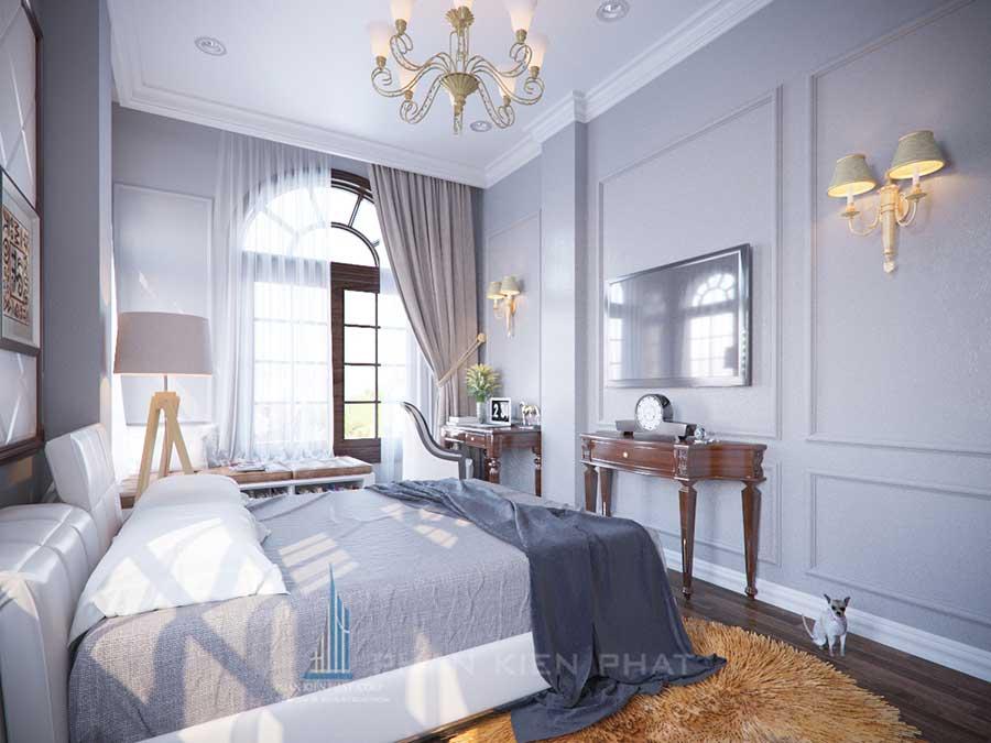 Thiết kế biệt thự - Phòng ngủ 3 góc 3