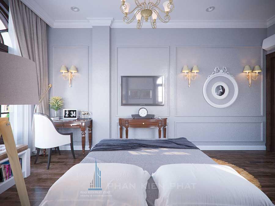 Biệt thự cổ điển - Phòng ngủ 3 góc 4