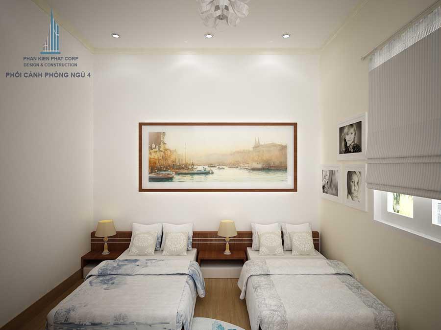 Biệt thự cấp 4 - Phòng ngủ 4 góc 1