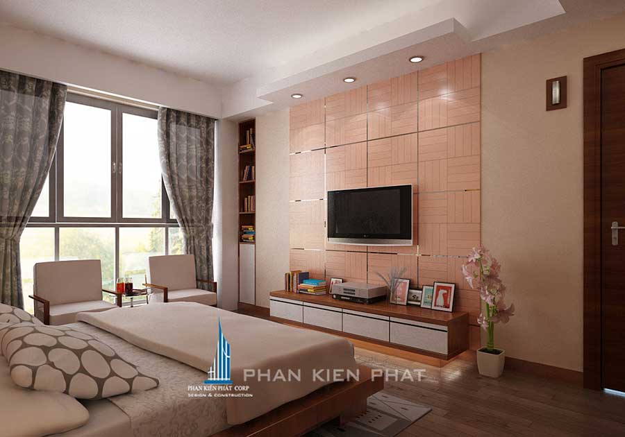 Nội thất nhà ở - Phòng ngủ góc 1