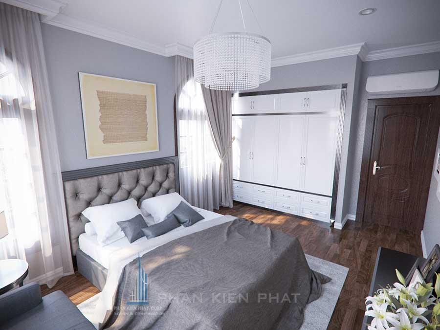 Phòng ngủ góc 2 - công ty thiết kế nhà đẹp uy tín
