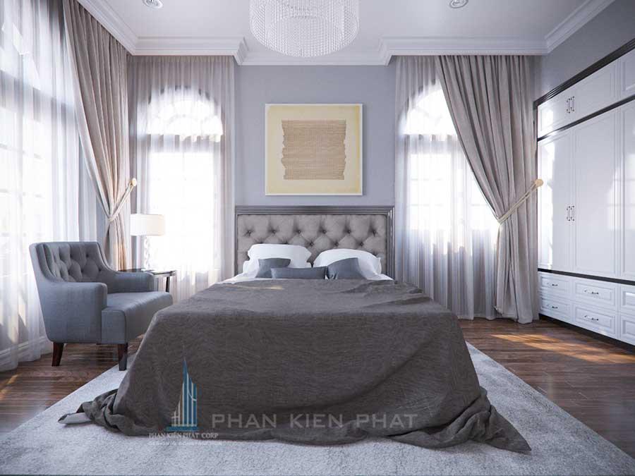 Thiết kế biệt thự - Phòng ngủ góc 4