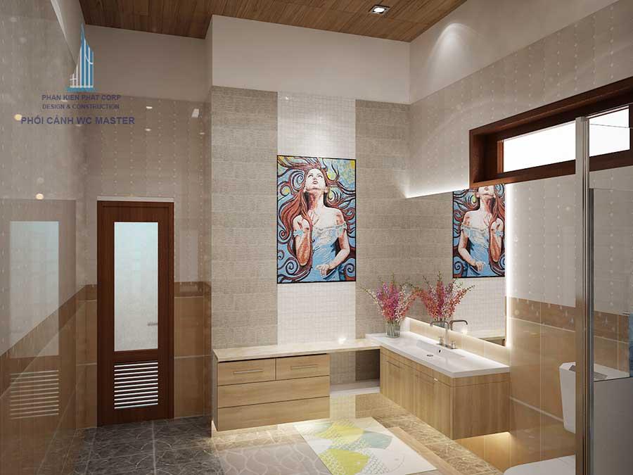 Nhà vệ sinh của biệt thự cấp 4 kinh doanh