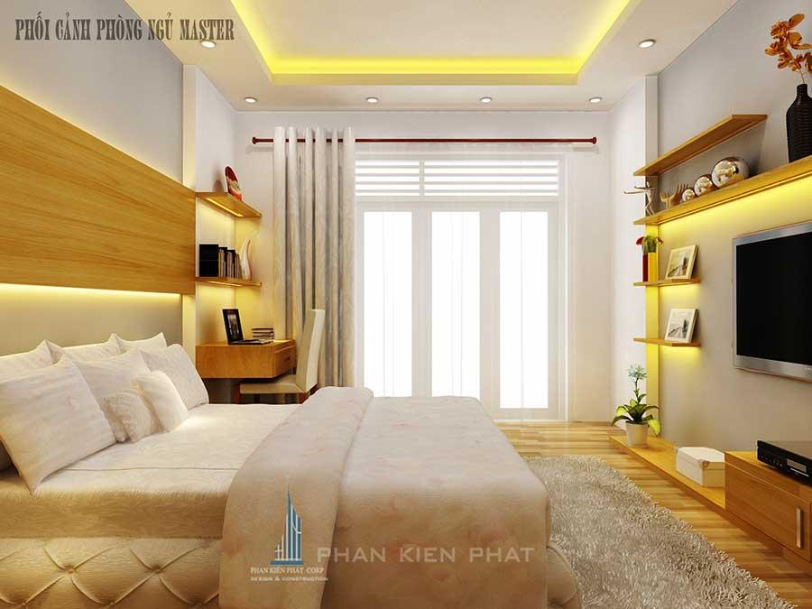 Nhà phố 5 tầng - Phòng ngủ Master góc 2