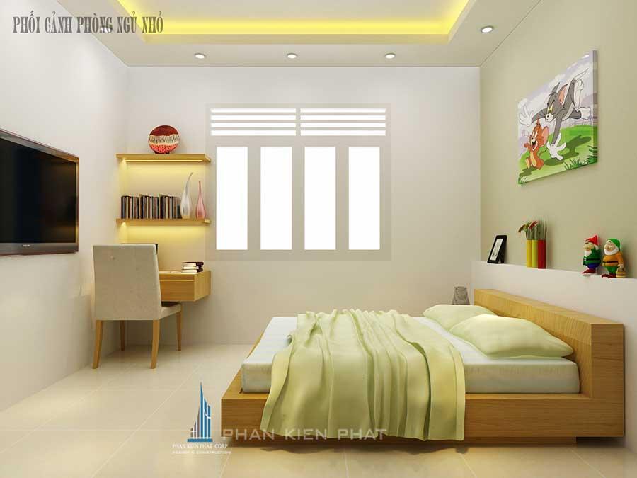 Nhà phố 5 tầng - Phòng ngủ nhỏ góc 2