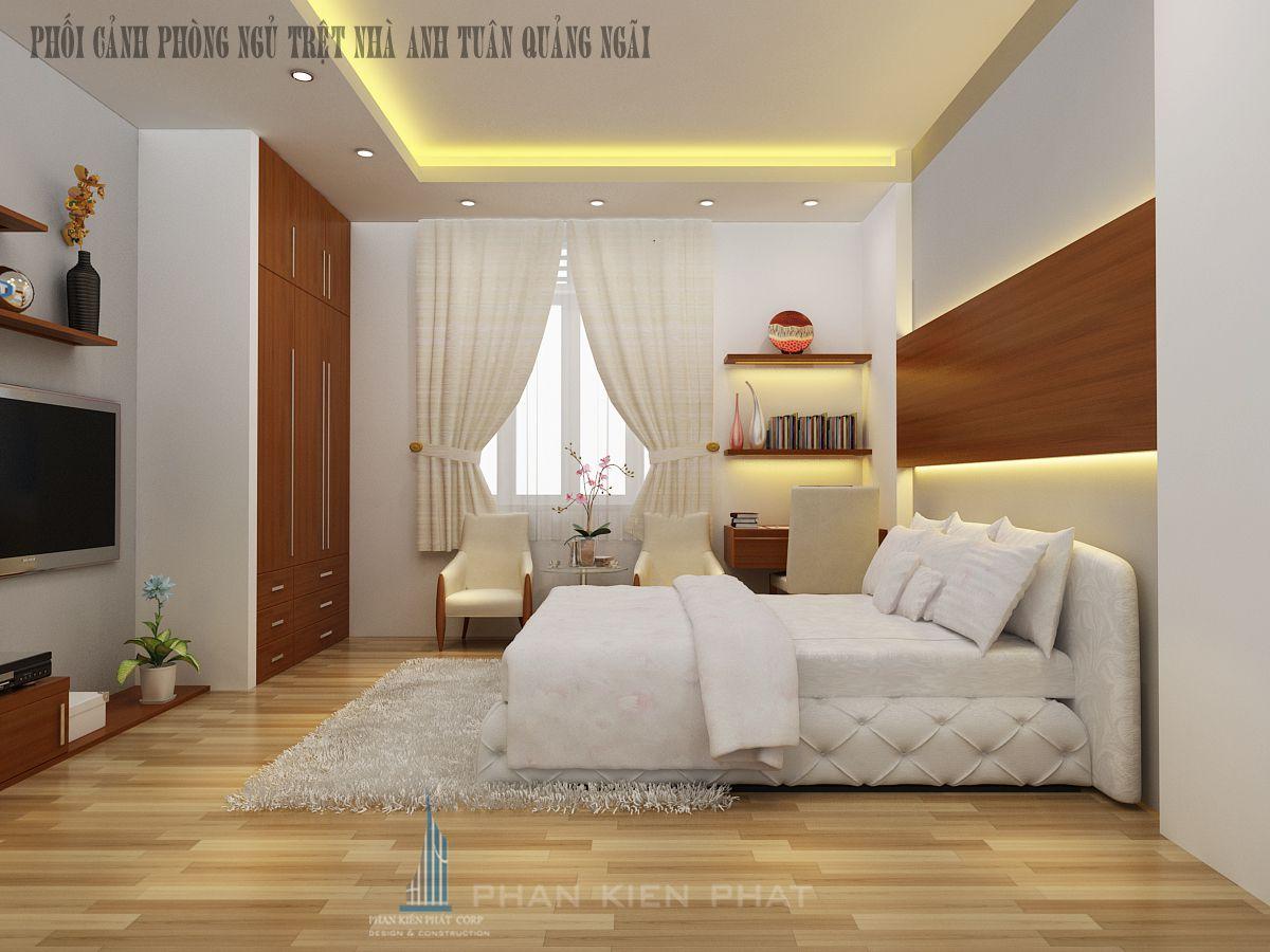 Phối cảnh phòng ngủ wiew 2