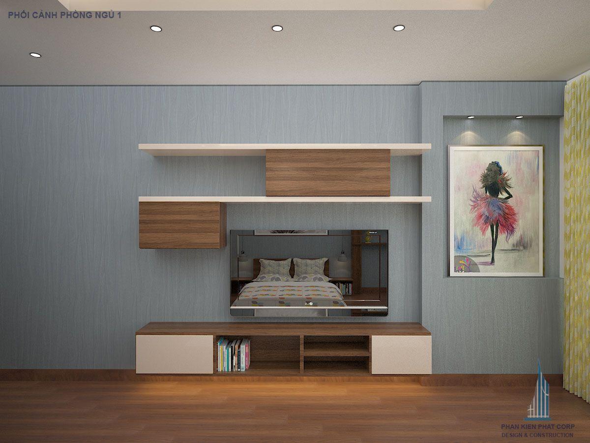 Phối cảnh phòng ngủ wiew 7