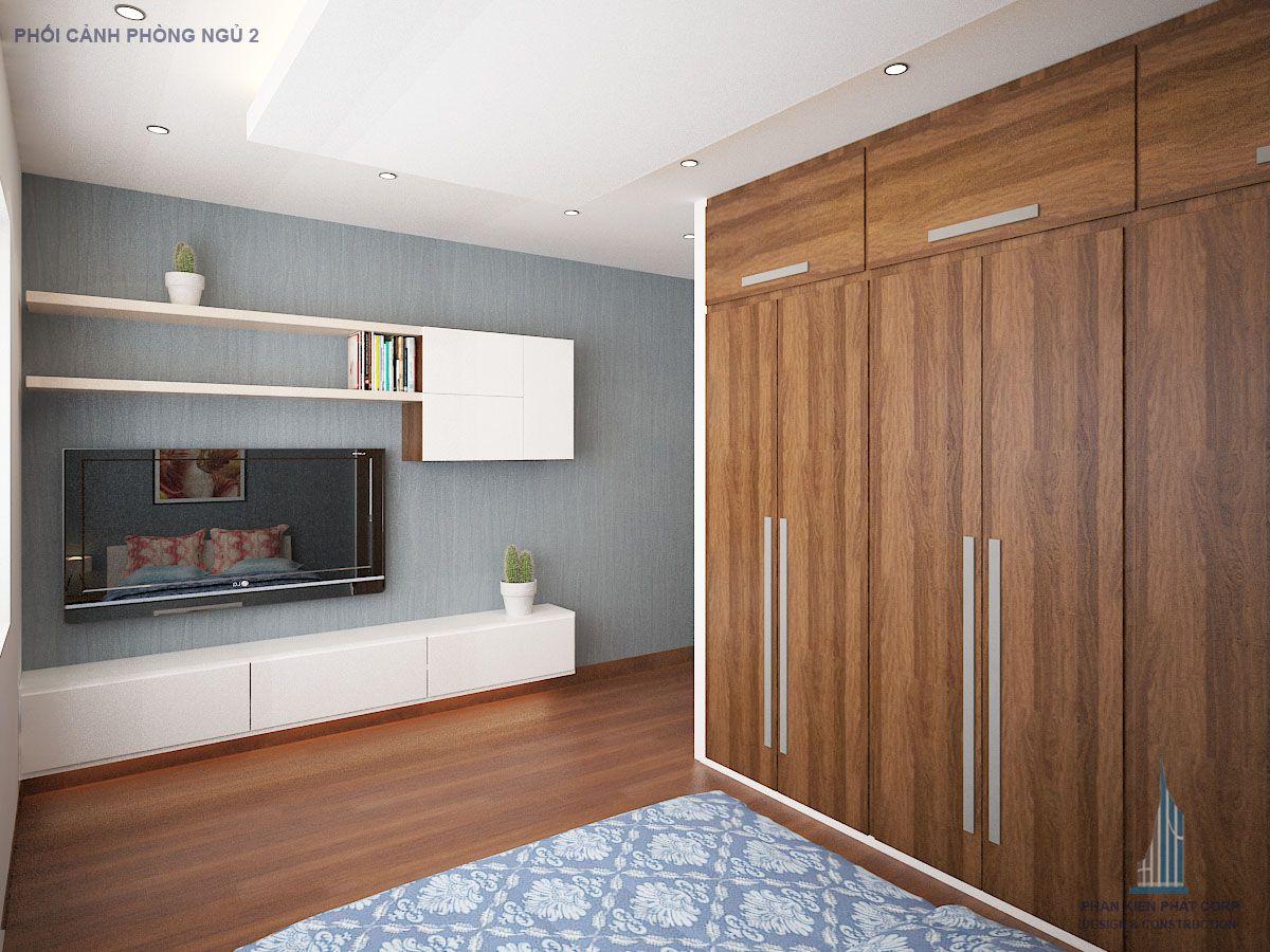 Phối cảnh phòng ngủ wiew 8