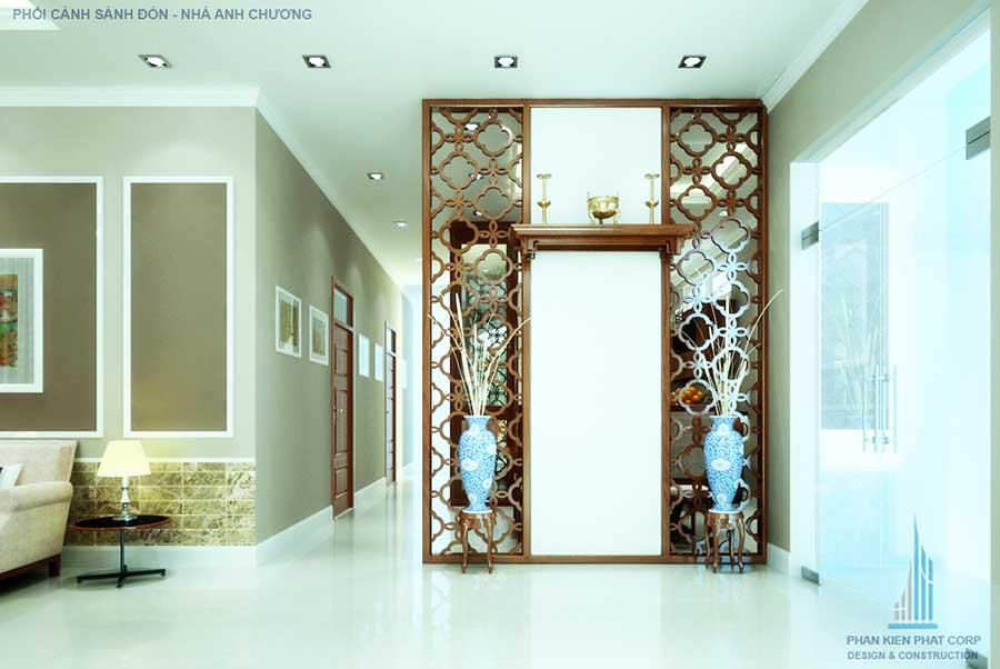 Thiết kế biệt thự -  Phòng thờ