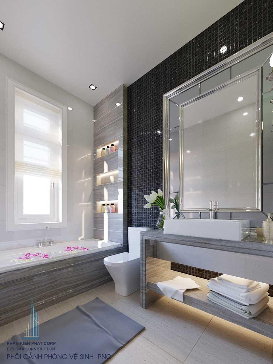 Phòng vệ sinh 1 góc 1