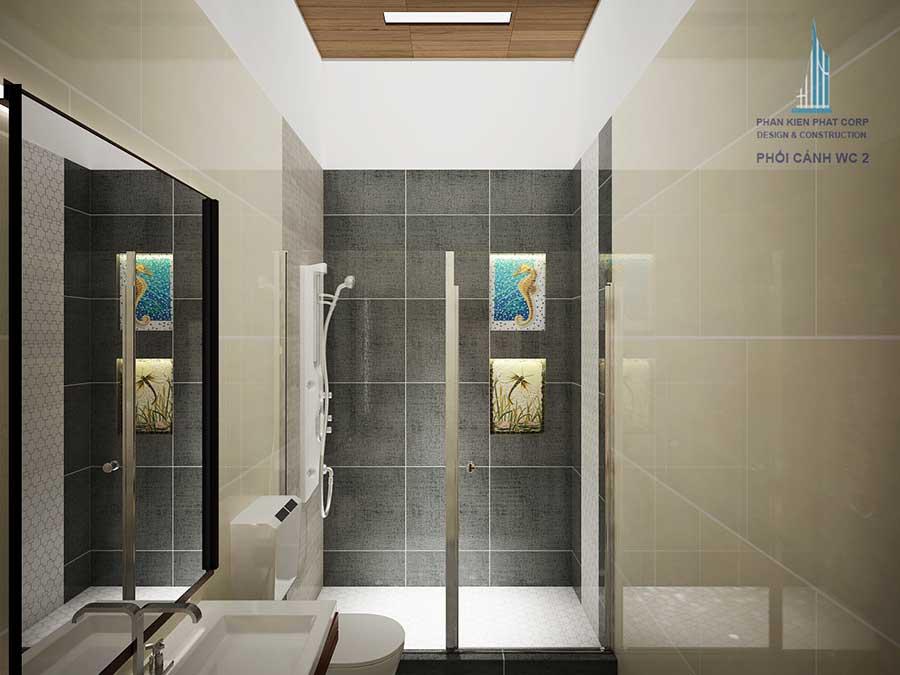 Nhà cấp 4 đẹp - Phòng vệ sinh 2 góc 2