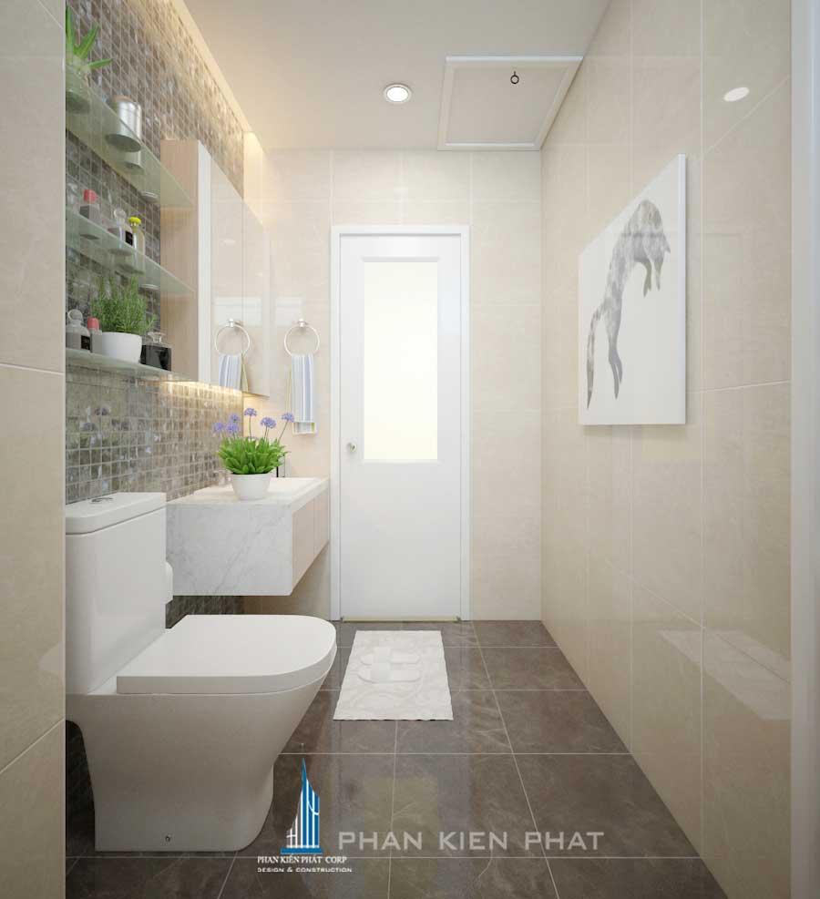 Nội thất chung cư - Phòng vệ sinh góc 1