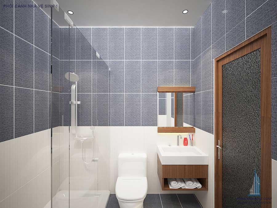 Nhà phố 3 tầng - Phòng vệ sinh góc 2