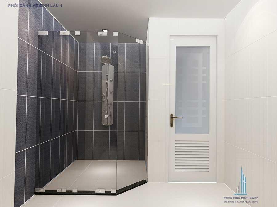 Biệt thự bán cổ điển - Phòng vệ sinh lầu góc 2