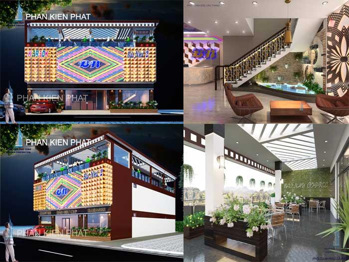 Thiết kế quán karaoke- từng khu vực