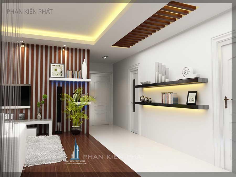 Thiết kế nội thất - Tường trang trí