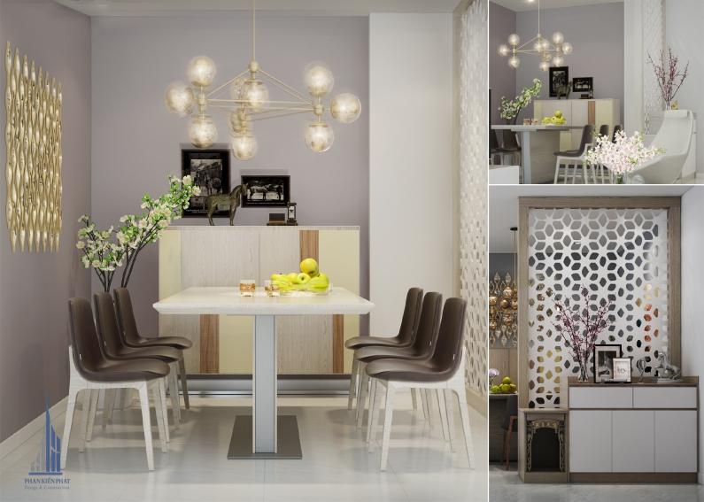 phòng ăn gia đình