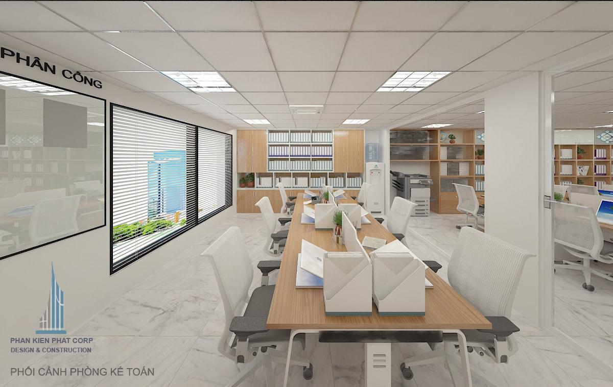 Phòng kế toán view 1