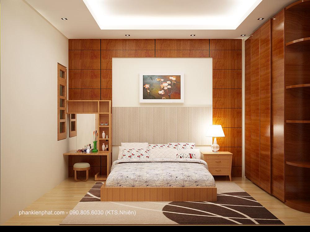 Phòng ngủ 2 góc 1