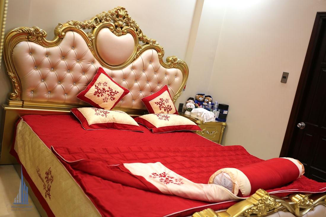Phòng Ngủ 2 Với Gam Màu Nóng Bắt Mắt Nổi Bậc