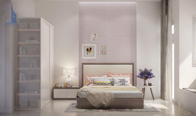 Phòng ngủ đơn giản tiện nghi view 1