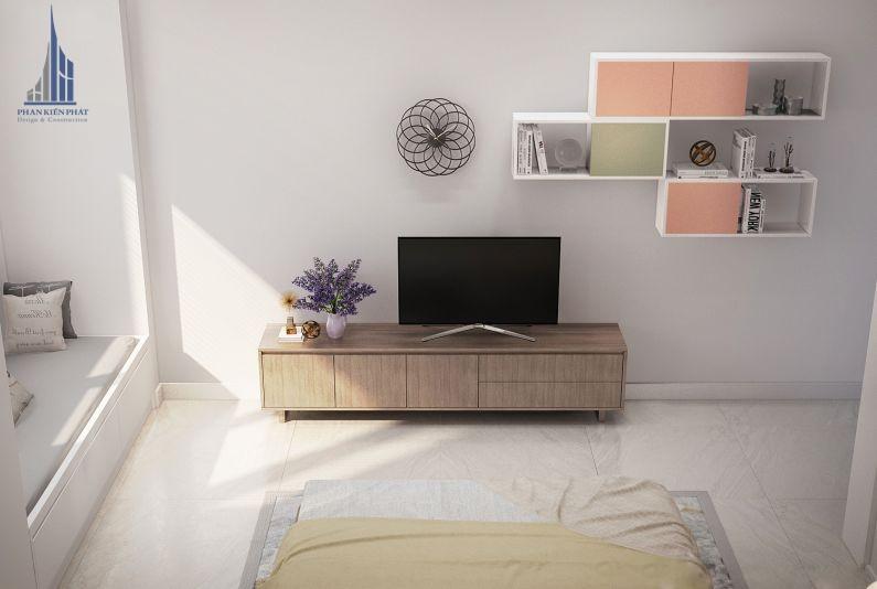 Phòng ngủ đơn giản tiện nghi view 2